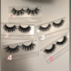 Mink Lashes 3 for $33